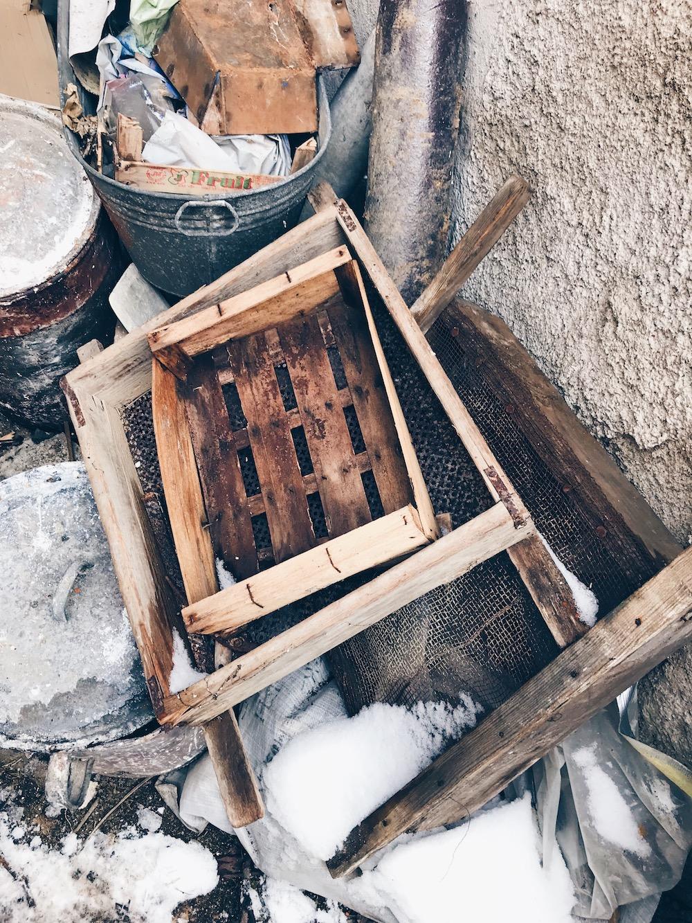 banánové řezy Třebíč rekonstrukce stavební nepořádek