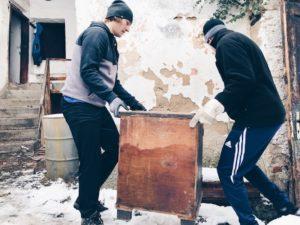 stavební bagety rekonstrukce Třebíč Židy UNESCO