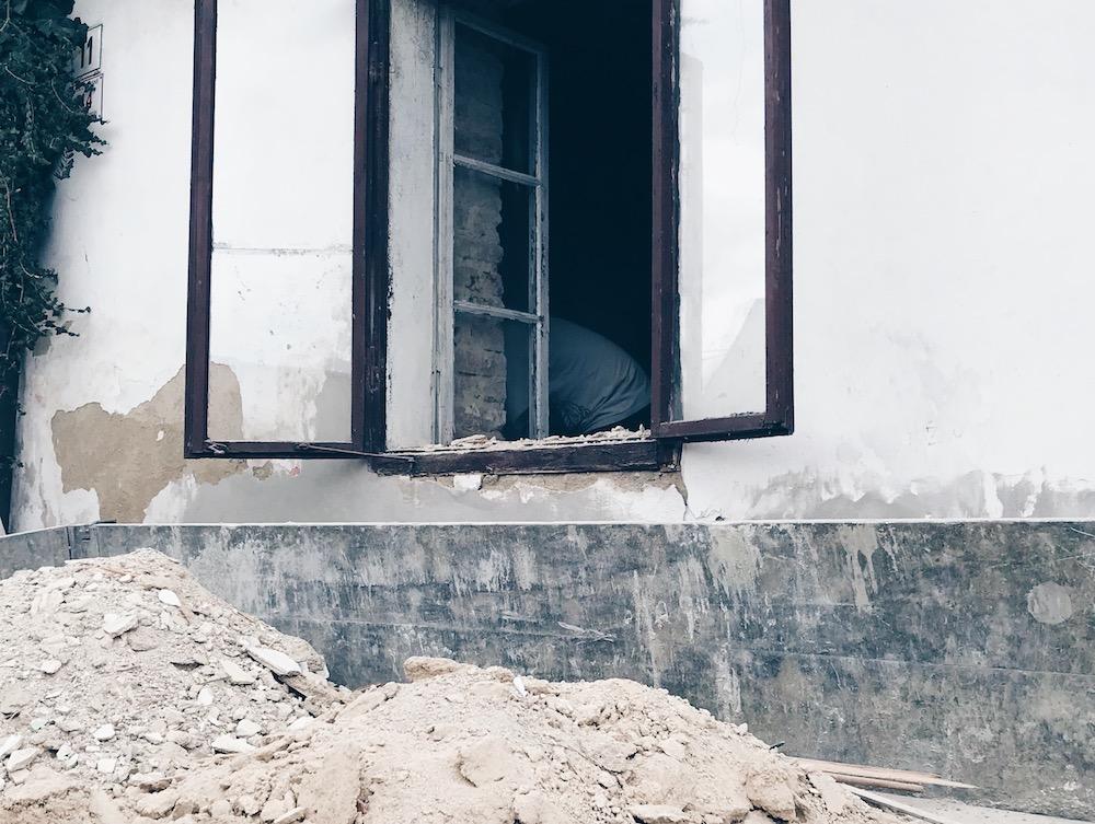 oklepávání zdí Třebíč UNESCO