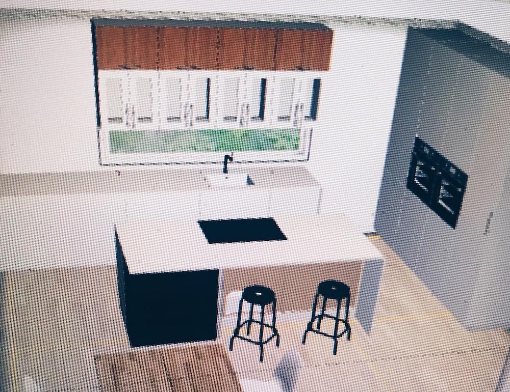 plány a návrhy nové kuchyně